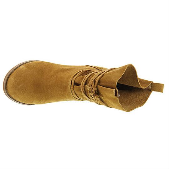 Jessica Simpson Honey Brown Suede Boots Image 1