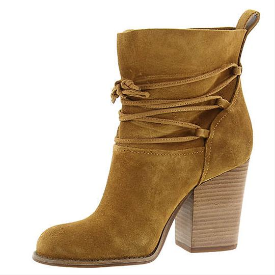 Jessica Simpson Honey Brown Suede Boots Image 2