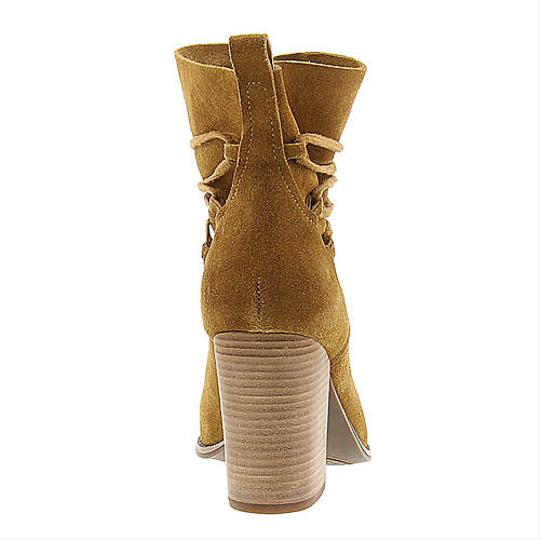 Jessica Simpson Honey Brown Suede Boots Image 3
