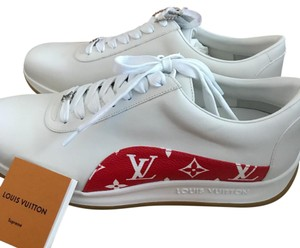 Louis Vuitton x Supreme white + Red Athletic