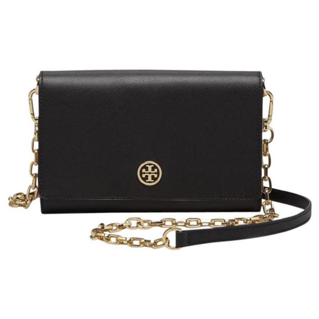 Tory Burch Robinson Wallet with Chain Cross Body Bag Tory Burch Robinson Wallet with Chain Cross Body Bag Image 1