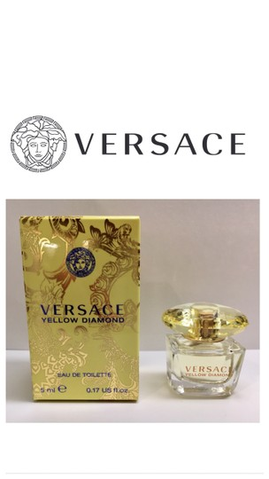 Versace Yellow Diamond Mini Fragrance 5 ml, .17 Fl. oz. Image 2