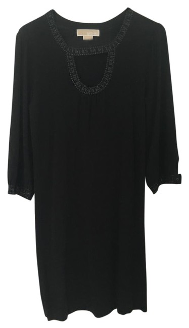 Preload https://img-static.tradesy.com/item/21822183/michael-kors-black-with-sequence-night-out-dress-size-petite-4-s-0-1-650-650.jpg