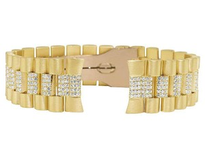 Jewelry Unlimited President VS Diamond Watch Band Day-Date in 14K Yellow Gold 7.5 Ct