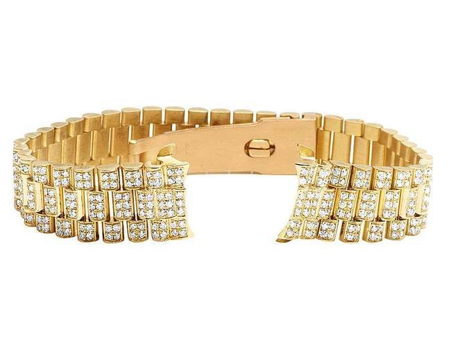 Jewelry Unlimited Yellow Gold Ladies President Vs Diamond Band Datejust In 18k 7ct Watch Jewelry Unlimited Yellow Gold Ladies President Vs Diamond Band Datejust In 18k 7ct Watch Image 1