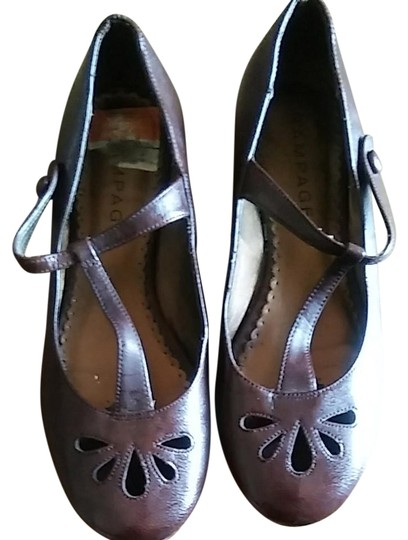 Rampage Dark Brown Flats Image 0