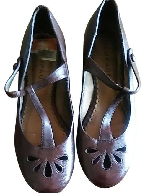 Item - Dark Brown Flats Size US 9 Regular (M, B)