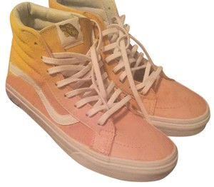 Vans yellow and pink Athletic