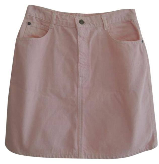 Preload https://img-static.tradesy.com/item/21822454/pink-ladies-jean-style-by-value-miniskirt-size-12-l-32-33-0-1-650-650.jpg
