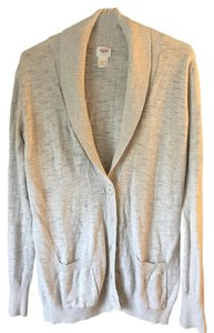 Mossimo Supply Co. Shawl Collar Longsleeve Cotton Banded Cuffs Banded Hemline Cardigan