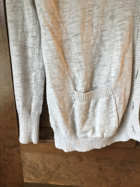 Mossimo Supply Co. Shawl Collar Longsleeve Cotton Banded Cuffs Banded Hemline Cardigan Image 3