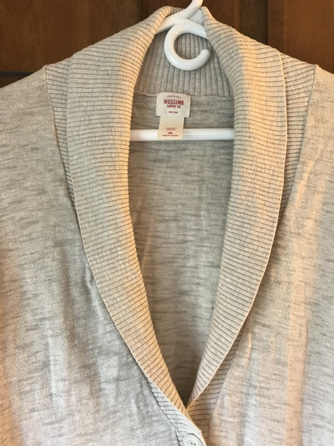Mossimo Supply Co. Shawl Collar Longsleeve Cotton Banded Cuffs Banded Hemline Cardigan Image 4