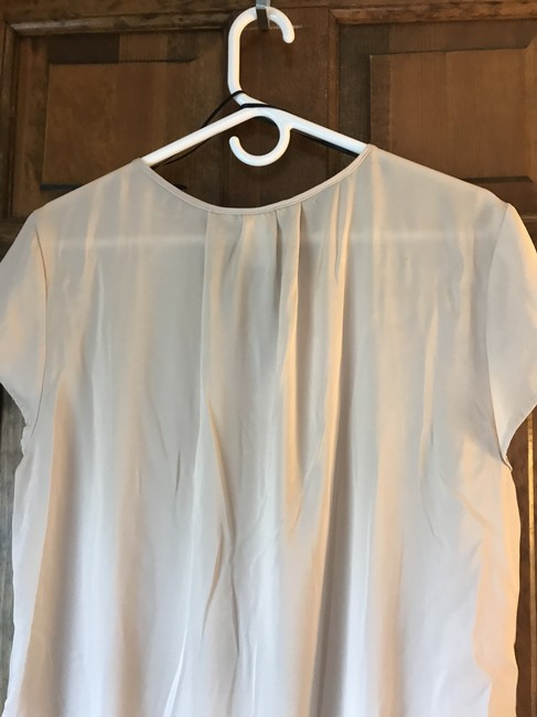 H&M Polyester Cap Sleeve V-neck Silky Feel Comfortable Tunic Image 1