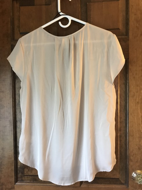 H&M Polyester Cap Sleeve V-neck Silky Feel Comfortable Tunic Image 2