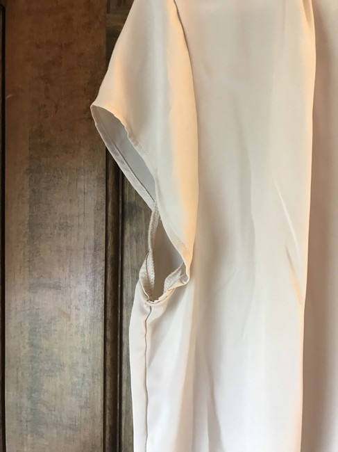 H&M Polyester Cap Sleeve V-neck Silky Feel Comfortable Tunic Image 3