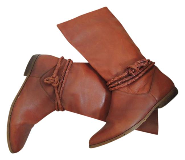Warm Brown Ladies Riding 1/2 B Leather By Value Boots/Booties Size US 8.5 Regular (M, B) Warm Brown Ladies Riding 1/2 B Leather By Value Boots/Booties Size US 8.5 Regular (M, B) Image 1