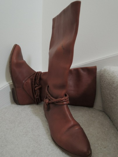 Allegre Braid Accent Suede Lined warm brown Boots Image 1