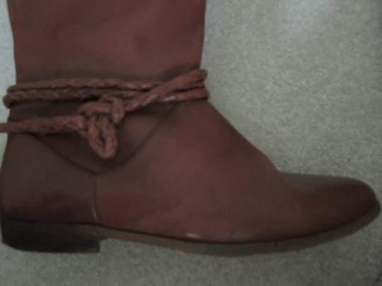 Allegre Braid Accent Suede Lined warm brown Boots Image 4