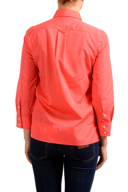 Dsquared2 Button Down Shirt Coral Red Image 1