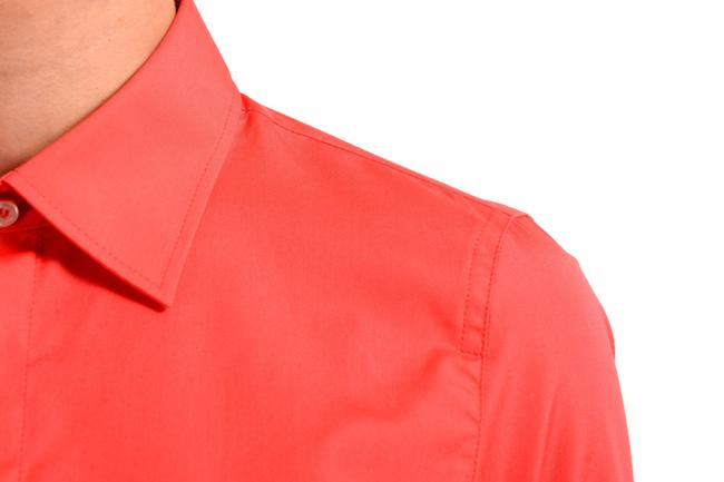 Dsquared2 Button Down Shirt Coral Red Image 2