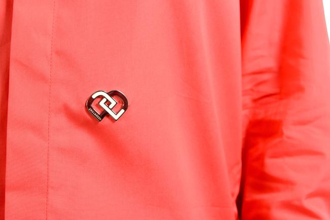 Dsquared2 Button Down Shirt Coral Red Image 3