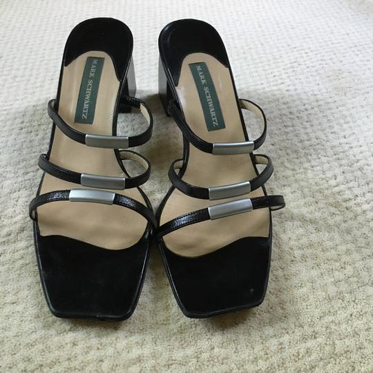 Mark Schwartz Black Sandals Image 1