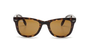 Ray-Ban RB 4105 Tortoise Foldable Wayfarer Sunglasses