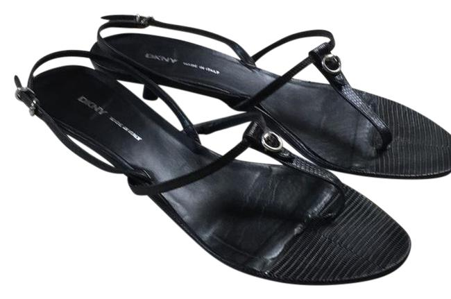DKNY Black Sandals Size US 9.5 Regular (M, B) DKNY Black Sandals Size US 9.5 Regular (M, B) Image 1