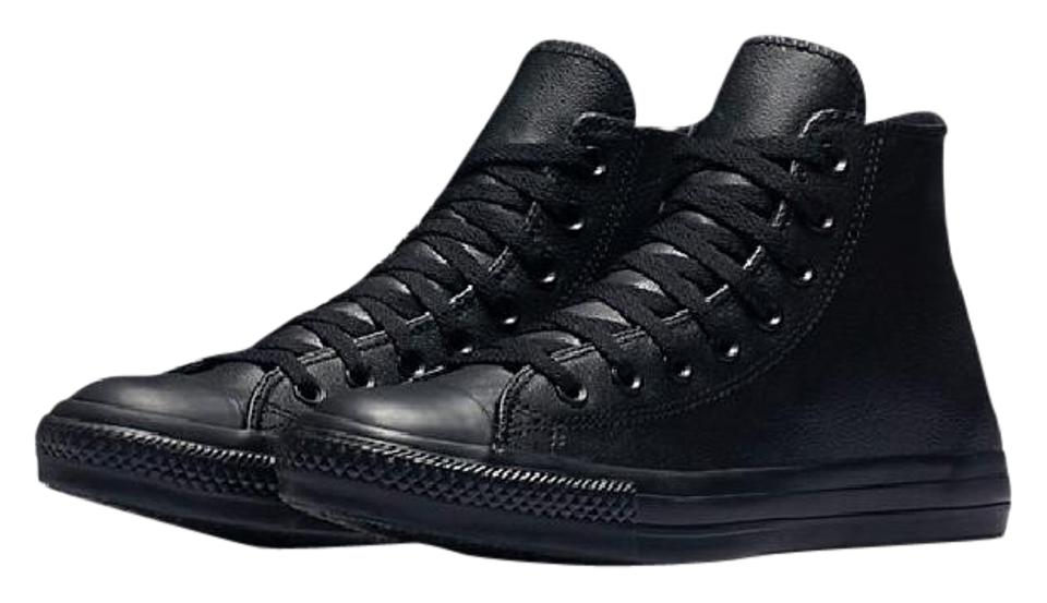 73c04bde1fe5 Converse Black Chuck Taylor All Stars Ii Leather Hi Tops Sneakers ...
