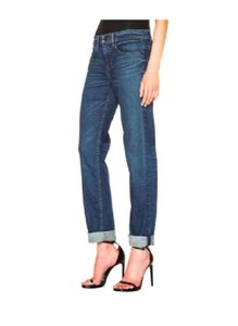 Helmut Lang Boyfriend Fitted 27 Relax Tap Taper - 27 Relaxed Fit Jeans-Dark Rinse
