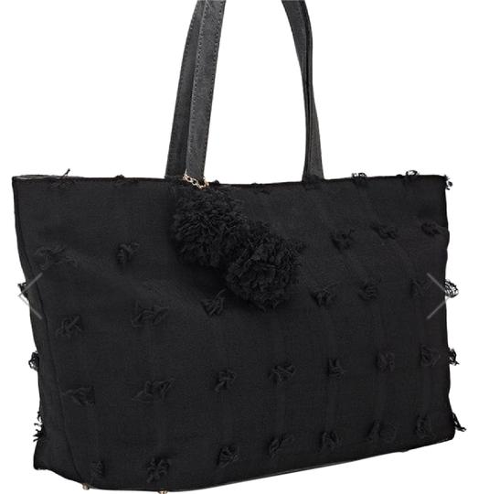 Preload https://img-static.tradesy.com/item/21823070/deux-lux-flower-black-coupe-voile-tote-0-1-540-540.jpg
