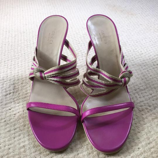 Gucci Orchid Sandals Image 1