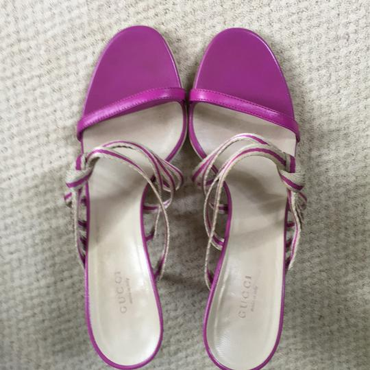 Gucci Orchid Sandals Image 2