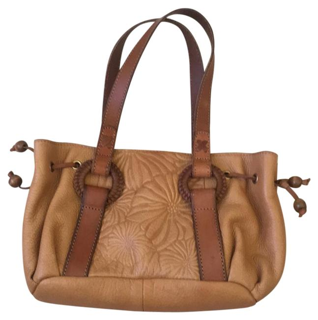 Fossil Small Brown Leather Baguette Fossil Small Brown Leather Baguette Image 1