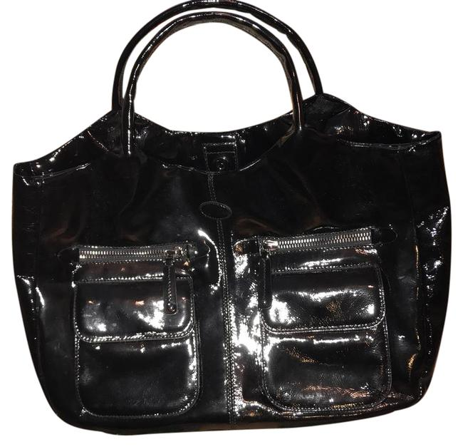 Tod's Patent Leather Tote Tod's Patent Leather Tote Image 1