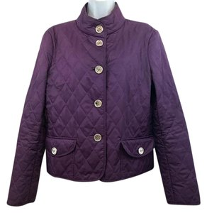 Burberry London Quilted Purple Jacket