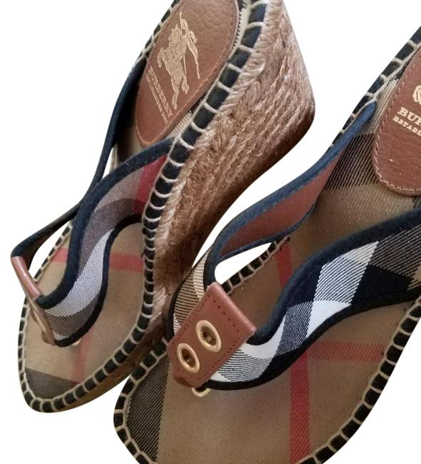 Burberry Prorsum Beige Sandal Wedges Size EU 38 (Approx. US 8) Regular (M, B) Burberry Prorsum Beige Sandal Wedges Size EU 38 (Approx. US 8) Regular (M, B) Image 1
