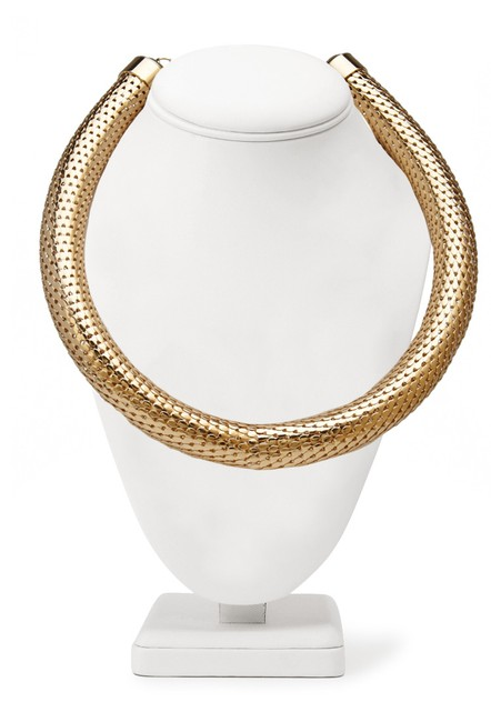 Item - Gold Tone Snake Chain Necklace