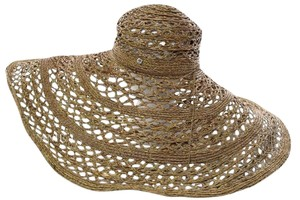 florabella FloraBella Bacilia Plaited Raffia Sunhat Bronze New Without Tags