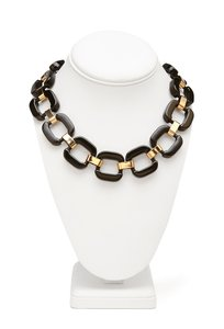 Forever 21 Forever 21 Black and Gold Necklace