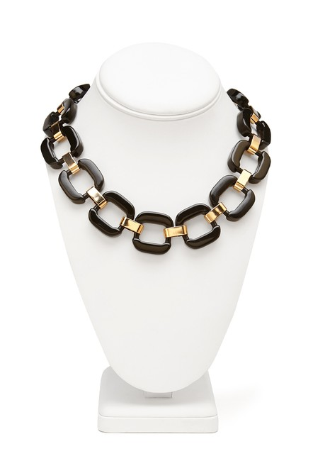 Item - Black and Gold Necklace