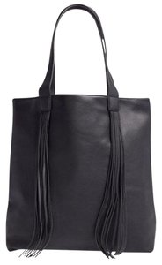 Street Level Nordstrom Fringe Tote in Black