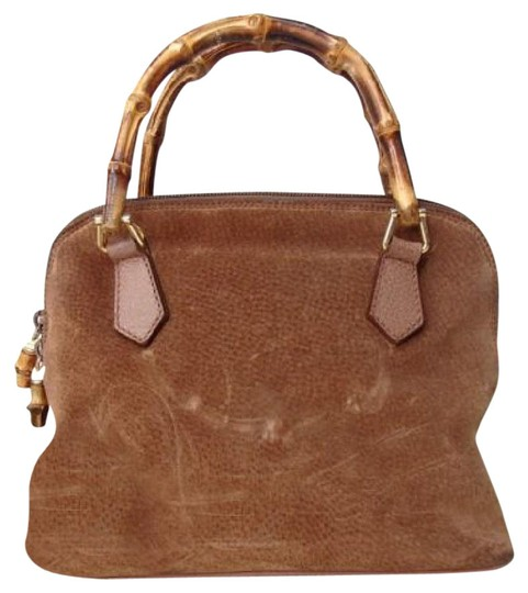 Preload https://img-static.tradesy.com/item/21824097/gucci-vintage-pursesdesigner-purses-light-sandbeige-colored-suedeleather-with-bamboo-accentsremovabl-0-1-540-540.jpg