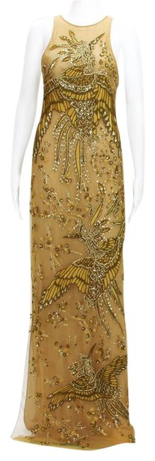 Preload https://img-static.tradesy.com/item/21824114/emilio-pucci-nude-and-black-incredible-beaded-embroidered-swans-tulle-gown-long-formal-dress-size-4-0-1-650-650.jpg