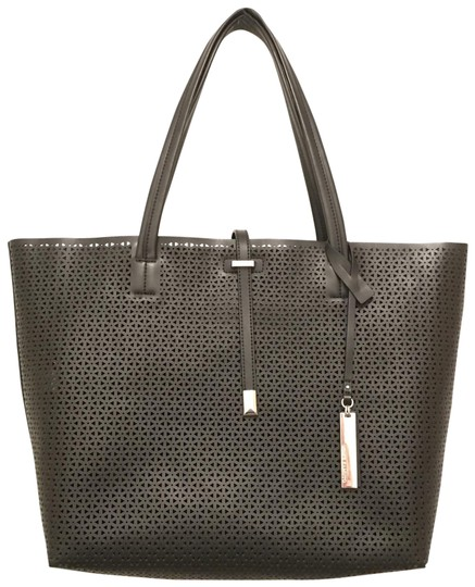 Preload https://img-static.tradesy.com/item/21824222/vince-camuto-new-leila-laser-cut-black-silver-leather-tote-0-1-540-540.jpg