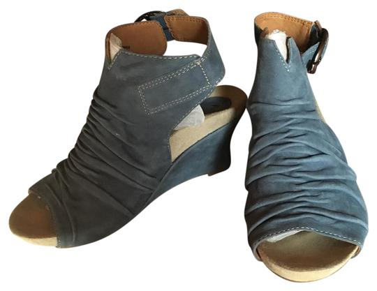 Earthies blue Wedges
