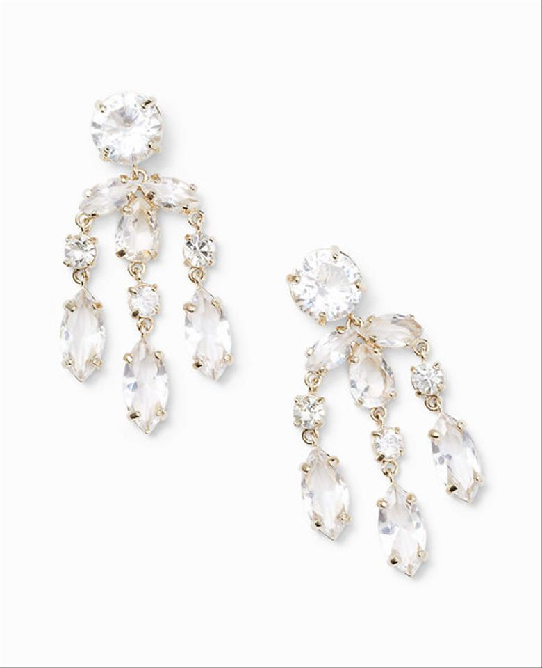 Ann taylor gold tone chandelier earrings tradesy ann taylor ann taylor chandelier earrings aloadofball Image collections