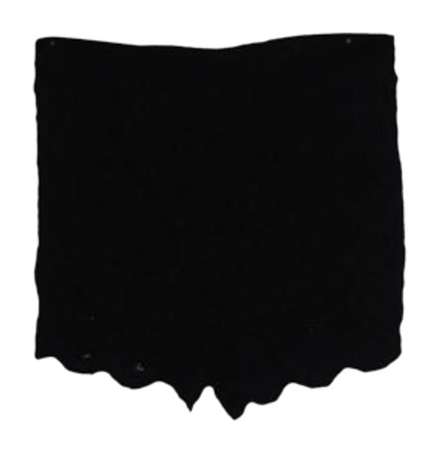 Free People Black Lace F025p334s Shorts Size 4 (S, 27) Free People Black Lace F025p334s Shorts Size 4 (S, 27) Image 1