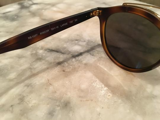 d286a277f5 Ray-Ban Tortoise Gold Green Mirror Rb4257 Gatsby Ii Sunglasses - Tradesy