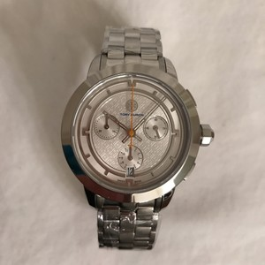 Tory Burch NEW! Stainless Steel Chronograph date